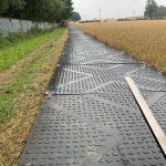 600 meters of TuffTrak temporary roadways