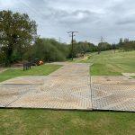 Installin 200 Tufftrak panels