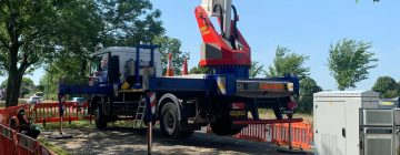 Tufftrak For Cherry Picker